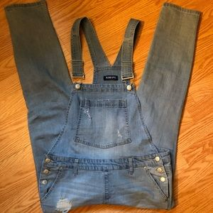 Blue Spice Juniors Overalls NWOT * never worn!